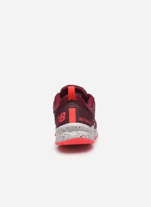 Chaussures de sport New Balance WTNTR Bordeaux vue droite