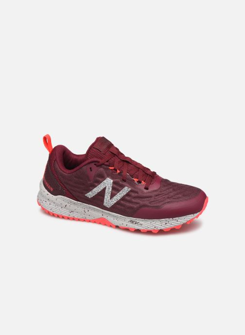 Sport shoes New Balance WTNTR Burgundy detailed view/ Pair view