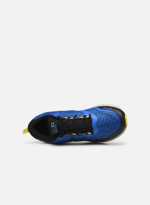 Sport shoes New Balance MTNTR Blue view from the left