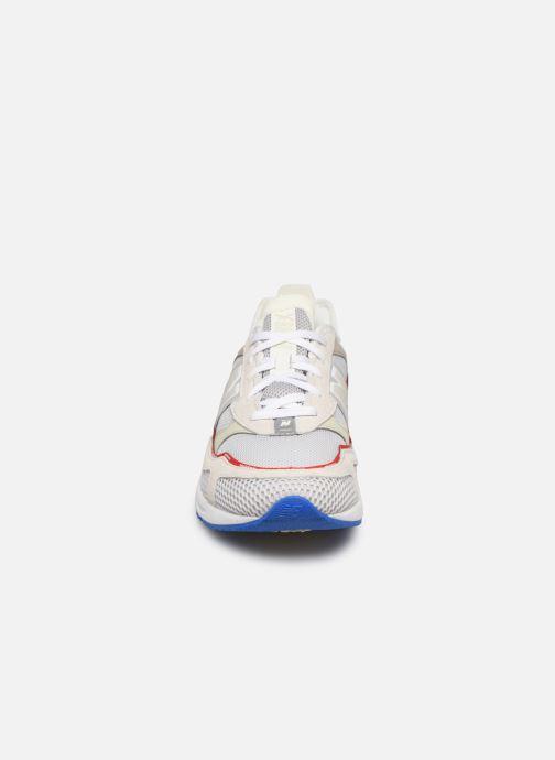 Baskets New Balance MSXRC Blanc vue portées chaussures