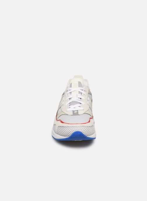 Sneaker New Balance MSXRC weiß schuhe getragen