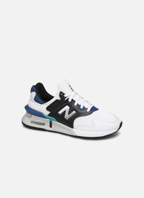 Baskets New Balance MS997 Blanc vue détail/paire