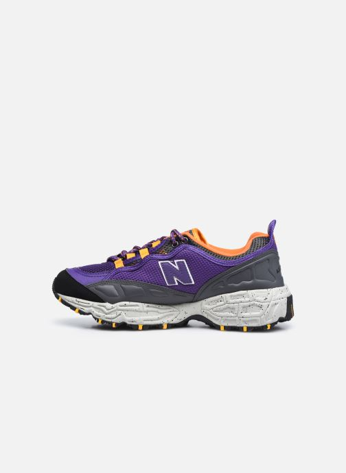 Sneakers New Balance ML801 Viola immagine frontale