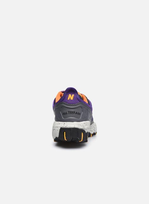 Sneakers New Balance ML801 Viola immagine destra