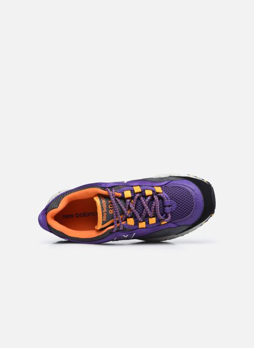 Sneakers New Balance ML801 Viola immagine sinistra