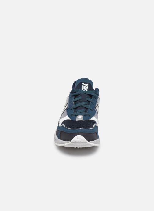Sneaker New Balance WSXRCH blau schuhe getragen
