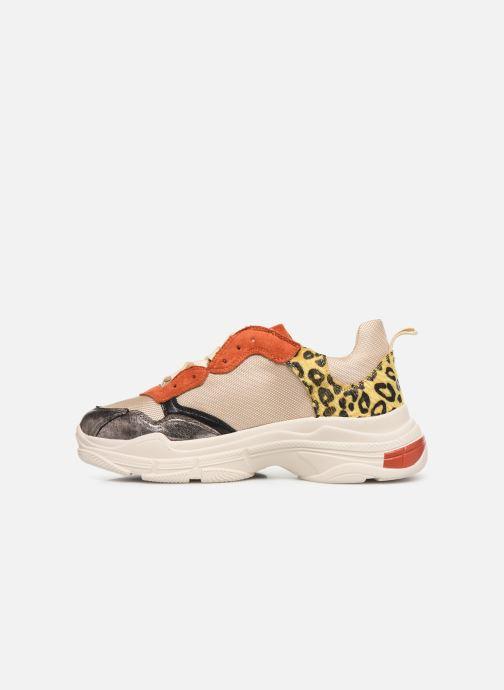Sneakers Vanessa Wu BK2042 Beige immagine frontale