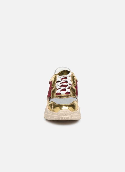 Sneakers Vanessa Wu BK2042 Oro e bronzo modello indossato