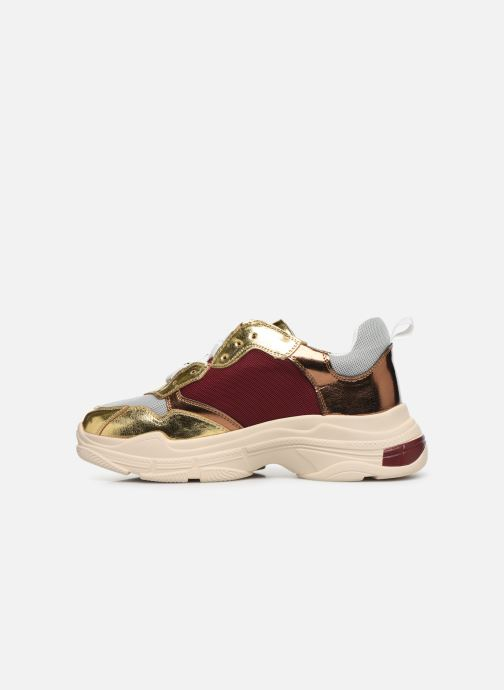 Sneakers Vanessa Wu BK2042 Goud en brons voorkant
