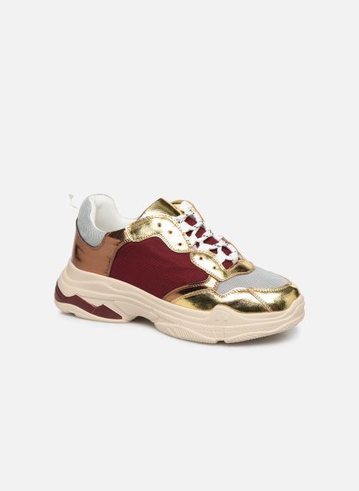 Sneakers Vanessa Wu BK2042 Goud en brons detail