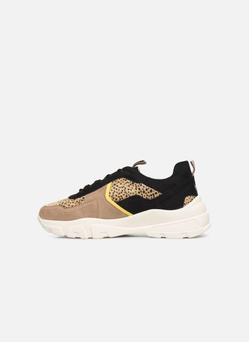 Sneakers Vanessa Wu BK2043 Beige voorkant