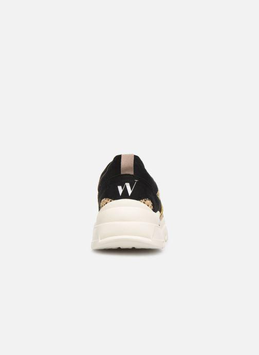 Sneaker Vanessa Wu BK2043 beige ansicht von rechts