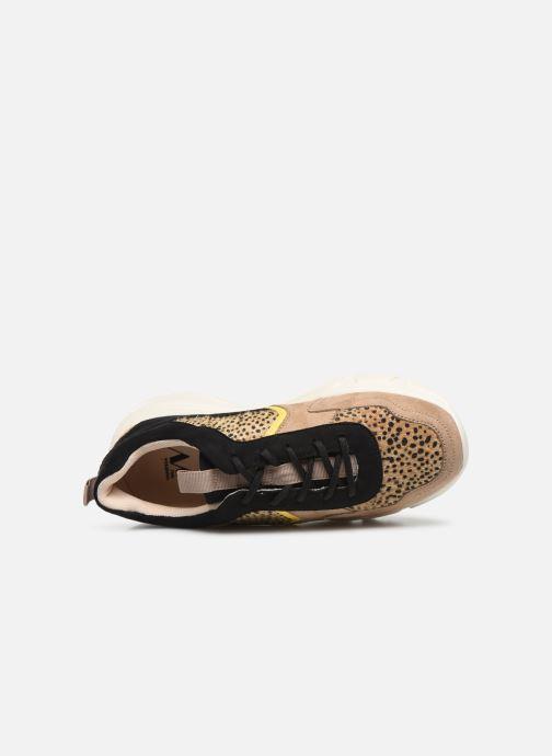 Sneaker Vanessa Wu BK2043 beige ansicht von links
