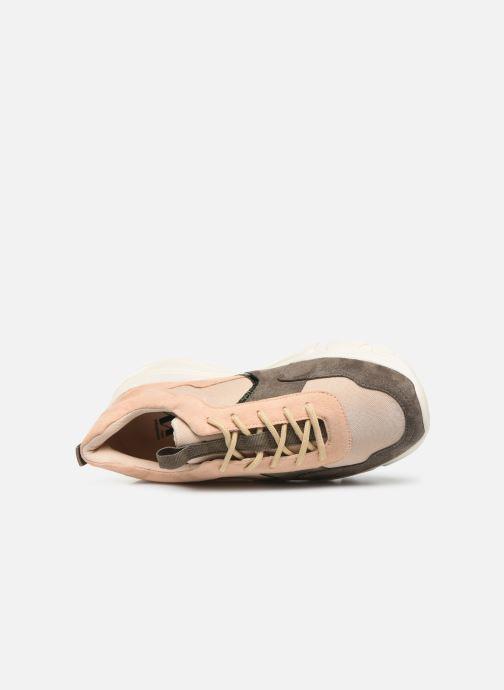 Sneakers Vanessa Wu BK2043 Verde immagine sinistra