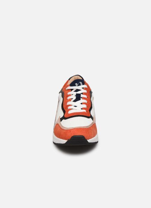 Baskets Vanessa Wu BK2034 Orange vue portées chaussures