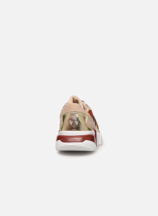 Sneakers Vanessa Wu BK2001 Rood rechts