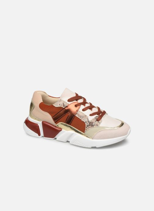 Trainers Vanessa Wu BK2001 Red detailed view/ Pair view