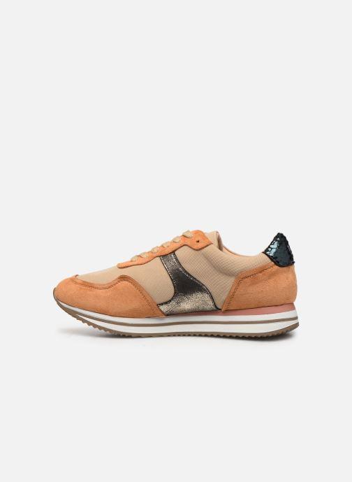 Sneaker Vanessa Wu BK2035 braun ansicht von vorne