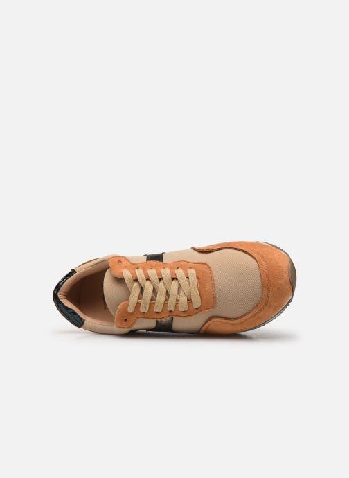 Sneaker Vanessa Wu BK2035 braun ansicht von links