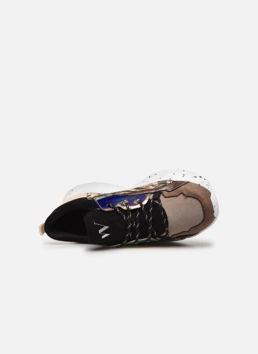 Sneakers Vanessa Wu BK2050 Beige immagine sinistra