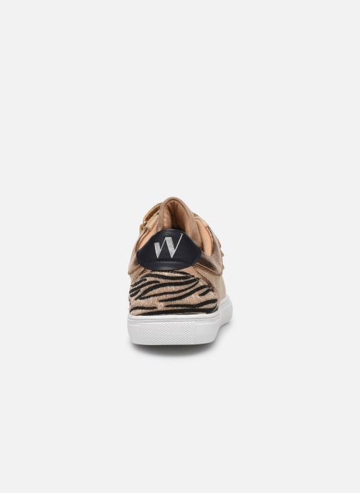 Trainers Vanessa Wu BK2000 Beige view from the right