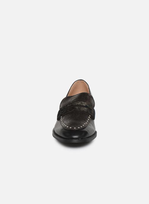 Slipper Vanessa Wu MO2039 schwarz schuhe getragen