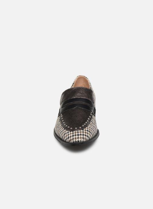 Slipper Vanessa Wu MO2039 grau schuhe getragen