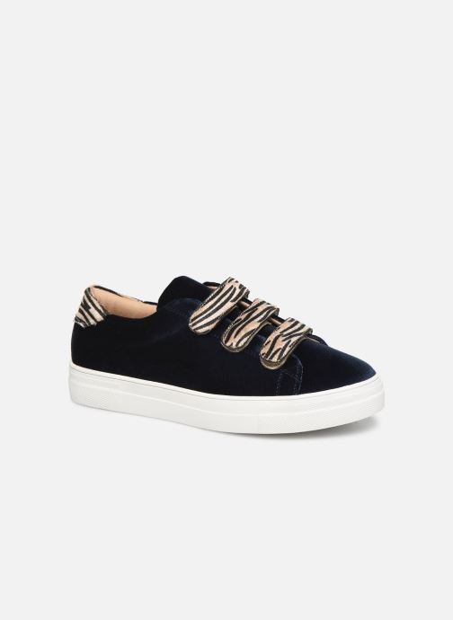 Trainers Vanessa Wu BK2036 Blue detailed view/ Pair view