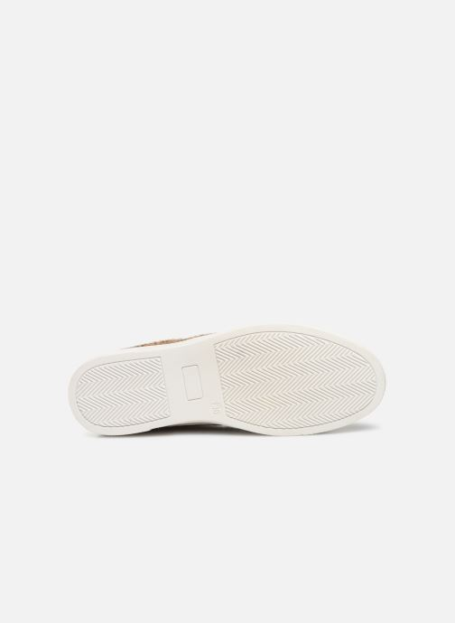 Trainers Vanessa Wu BK2036 Beige view from above