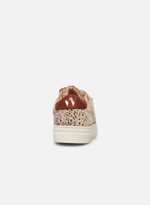 Sneakers Vanessa Wu BK2036 Beige rechts