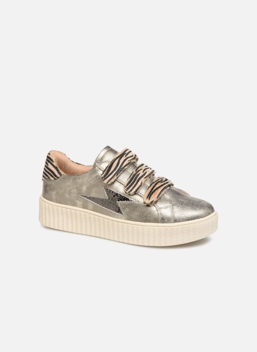 Trainers Vanessa Wu BK2004 Bronze and Gold detailed view/ Pair view