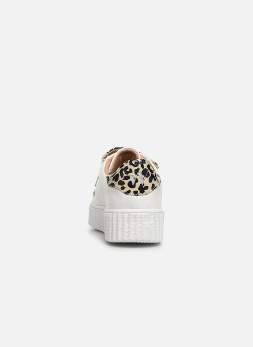Sneakers Vanessa Wu BK2004 Wit rechts