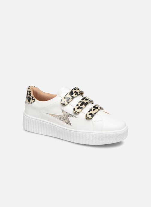 Sneakers Vanessa Wu BK2004 Hvid detaljeret billede af skoene