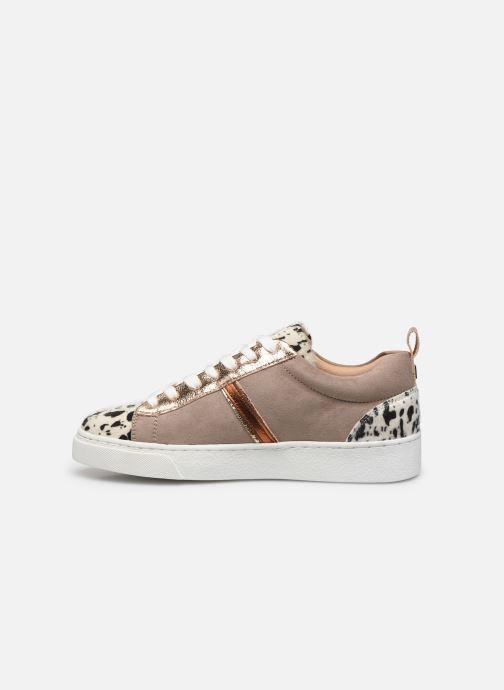 Sneaker Vanessa Wu BK2003 beige ansicht von vorne