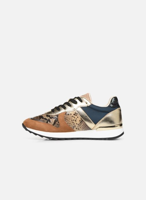 Trainers Vanessa Wu BK1999 Bronze and Gold front view