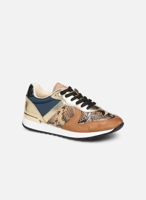 Trainers Vanessa Wu BK1999 Bronze and Gold detailed view/ Pair view