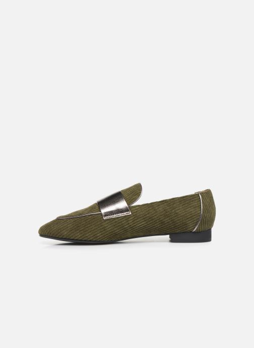 Loafers Vanessa Wu MO1995 Green front view