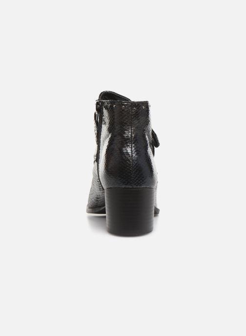 Boots en enkellaarsjes Vanessa Wu BT2015 Zwart rechts