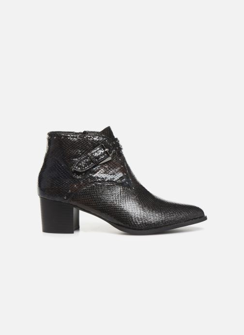 Boots en enkellaarsjes Vanessa Wu BT2015 Zwart achterkant
