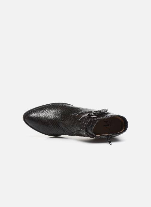 Boots en enkellaarsjes Vanessa Wu BT2015 Zwart links