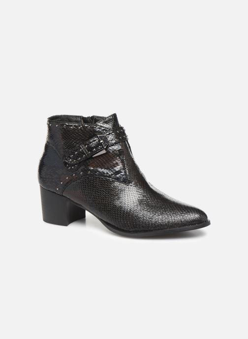 Boots en enkellaarsjes Vanessa Wu BT2015 Zwart detail