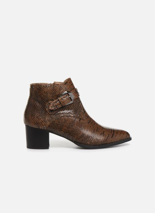 Ankle boots Vanessa Wu BT2015 Brown back view