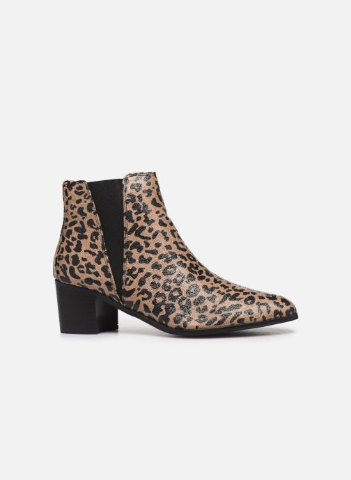 Ankle boots Vanessa Wu BT2020 Beige back view