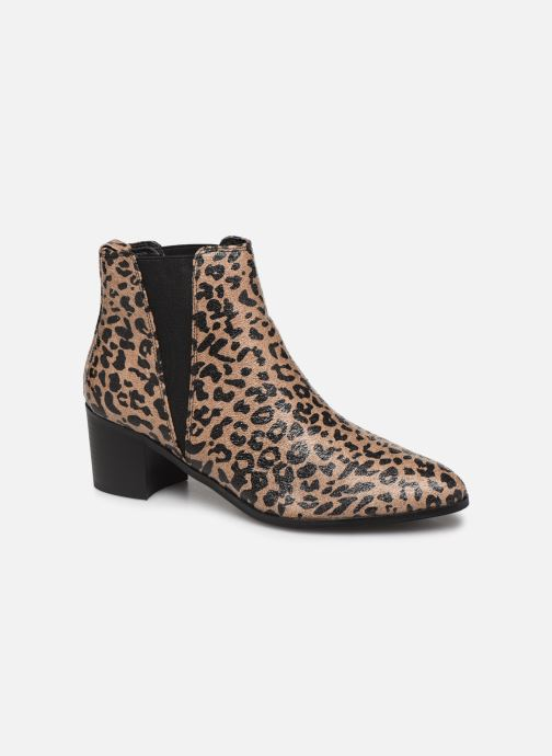 Ankle boots Vanessa Wu BT2020 Beige detailed view/ Pair view