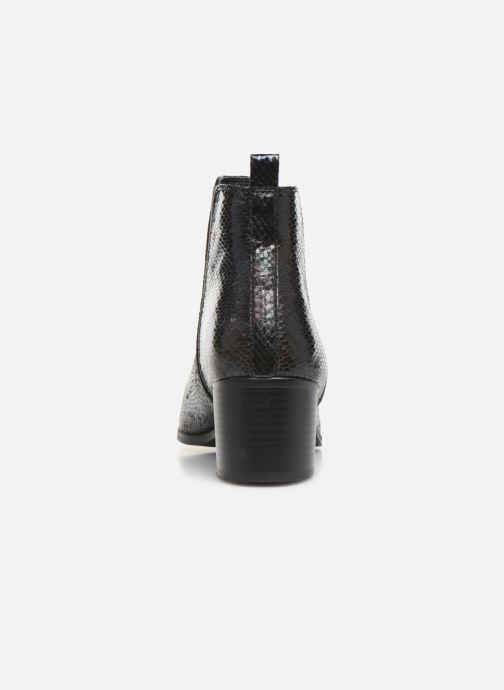 Boots en enkellaarsjes Vanessa Wu BT2020 Zwart rechts