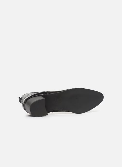 Bottines et boots Vanessa Wu BT2020 Noir vue haut