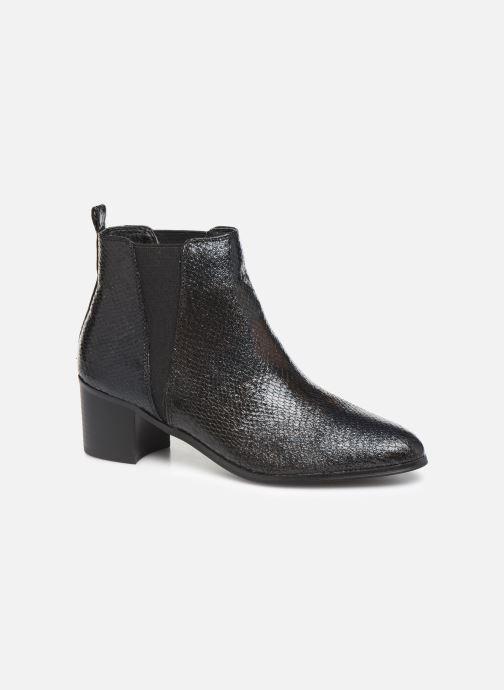 Boots en enkellaarsjes Vanessa Wu BT2020 Zwart detail
