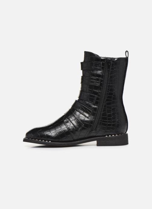 Bottines et boots Vanessa Wu BT2017 Noir vue face