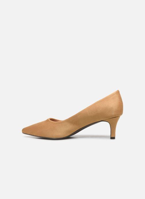 High heels Vanessa Wu EC2046 Brown front view
