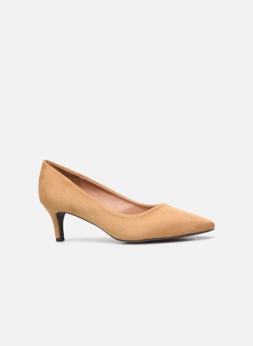 High heels Vanessa Wu EC2046 Brown back view